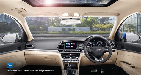 elantra interior premium sedan hyundai india