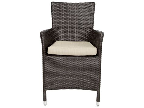 patio heaven malibu wicker arm chair ph mac