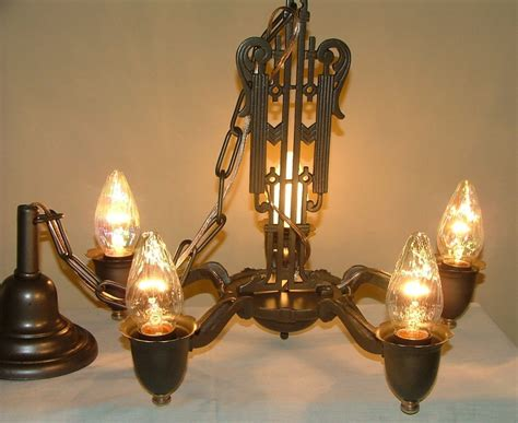 antique cast iron chandelier hanging ceiling light fixture
