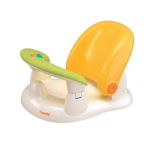 combi baby label baby bath chair