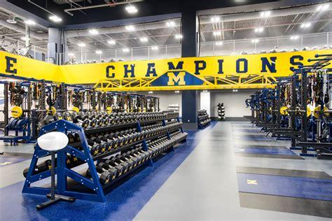 university  michigan olympic strength center rogers