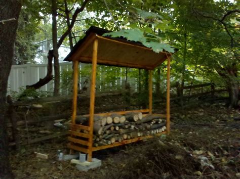 easy to build shed 10 wood shed plans to keep firewood the self