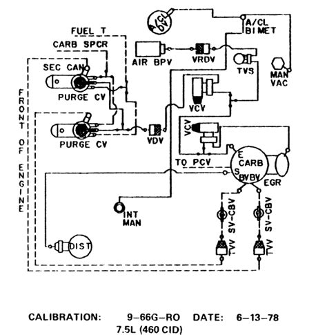 1992 Ford E350 Transmission Diagram by 1978 F250 Looking For An Emission Chart Or Vacuum