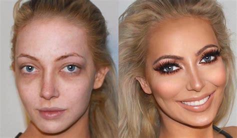 Photos avant et après maquillage youtube
