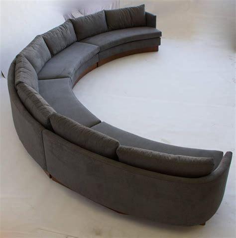 custom semi circular sectional by carson s of