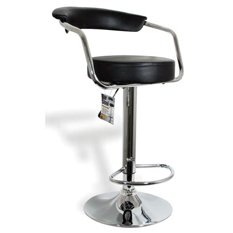 Buffalo® Adjustable Height Bar Stools With Arm Rests And