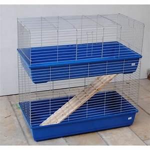 Cage A Cochon D Inde : cage du cochons d 39 inde lapins cage double 1 m achat ~ Dallasstarsshop.com Idées de Décoration