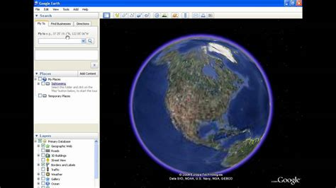 How To Use Google Earth Youtube