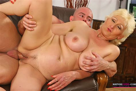 Old Cougar Enjoys Being Fucked By Young Cock That Always