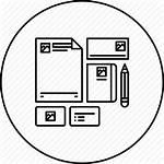 Icon Identity Merchandise Branding Marketing Company Icons