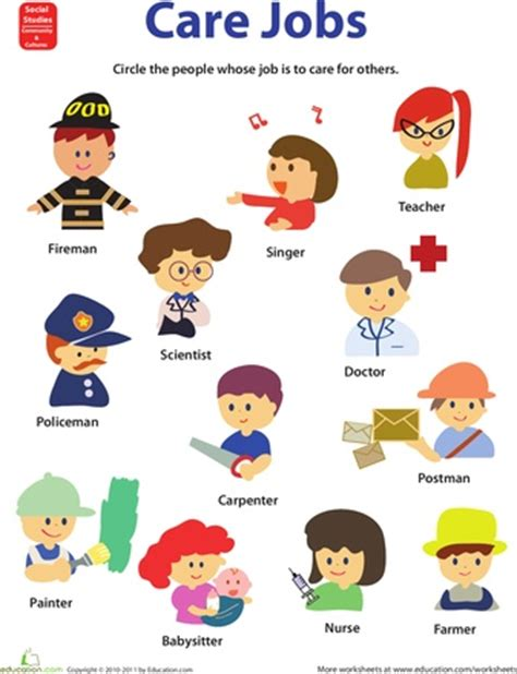 how to get a job at a preschool 83 best occupations and community places images on 133