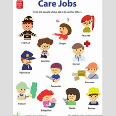11 Best Jobs And Occupation Images On Pinterest  Learning, Vocabulary And Activities For Kids