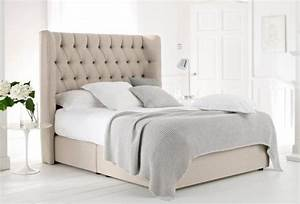 beige quilted headboard bedframe bed pinterest king With bed frame with quilted headboard