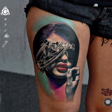 mesmerizing surreal tattoos   wonderful