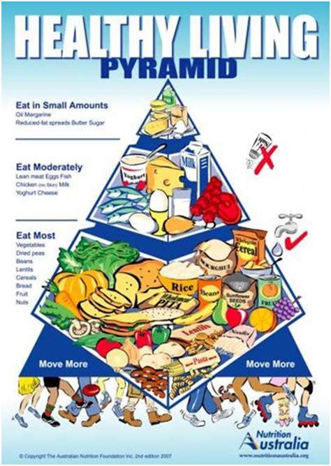 nutrition australia  released   food pyramid