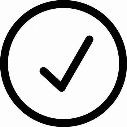 Icon Choice Tick Svg Font Approve Accept