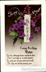 to, my, sister, loving, birthday, wishes, birthday