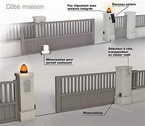 Moteur Barriere Coulissante : photocellule portail photocellule portail sur ~ Edinachiropracticcenter.com Idées de Décoration