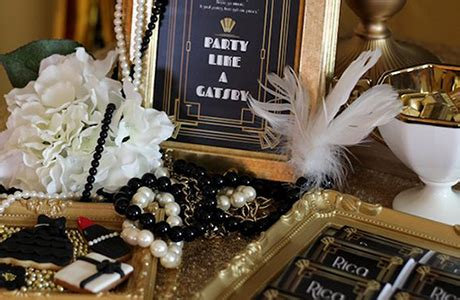 great gatsby themed event rentals toronto party
