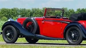 1936 Alvis Speed 20 Sd Dhc
