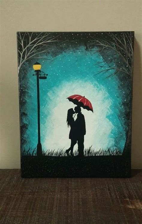 40 Easy Canvas Painting Ideas For Art Lovers  Paintnite