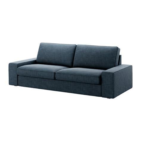 canapé bleu ikea kivik sofa hillared blue ikea