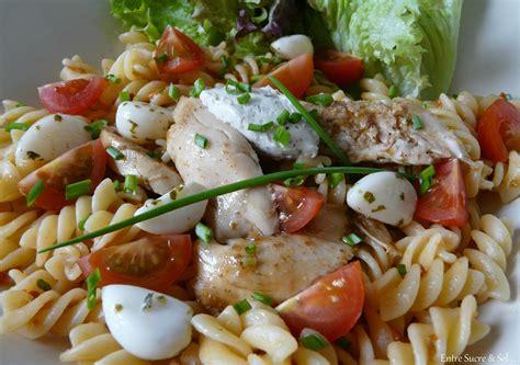 salade de pates poulet salade de p 226 tes quot express quot entre sucre sel