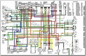1987 Honda Trx 250 Wiring Diagram