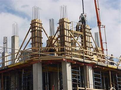 Column Forms Poured Clamp Lok Fast Building