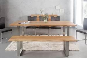 Tisch Mit Kufengestell : massiver baumstamm tisch 180 cm eiche massivholz baumkante esstisch mit kufengestell aus ~ Sanjose-hotels-ca.com Haus und Dekorationen