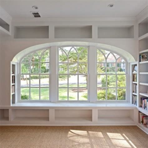 Shaker Style Bookcase by Ws4 Window Seat With Built In Shelving Bydesign