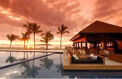 Fiji Sunset Tropical Backgrounds Pixelstalk
