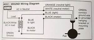 Wiring A Ceiling Fan With Black  White  Red  Green In Ceiling Box And Two Wall Switches