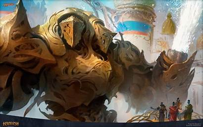 Mtg Gathering Magic Gearhulk Torrential Desktop Backgrounds