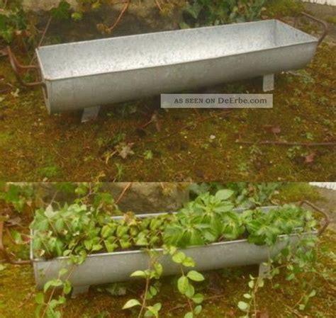 Garten Deko Landhausstil by Pflanzschale Dachrinne Zuber Gartendeko Garten Metall