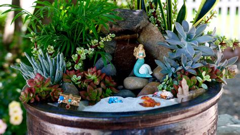 mermaid garden ideas    trendy