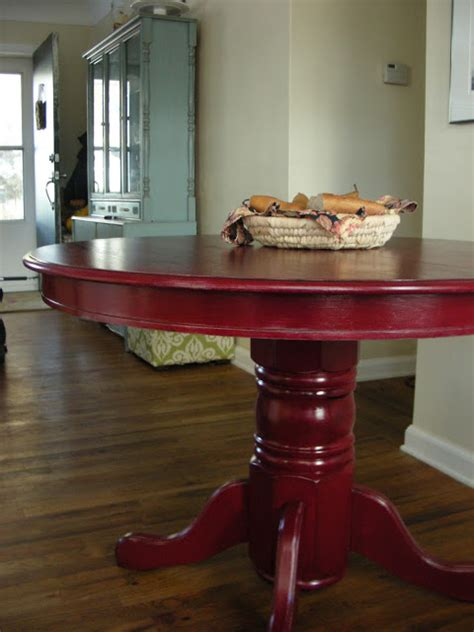 painting kitchen table and chairs different colors colorful painted dining table inspiration