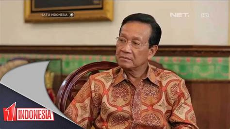 satu indonesia sri sultan hamengkubuwono  youtube