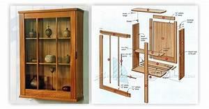 Wall Display Cabinet Plans • WoodArchivist