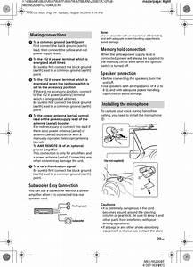 Sony Mexn5200bt Bluetooth Audio System User Manual Mex N5200bt