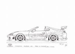 Dessin Fast And Furious : voici une s rie de dessin de voiture que j 39 ai les dessins de fabien ~ Maxctalentgroup.com Avis de Voitures