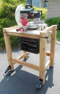 diy flip top cart  miter   planer famous artisan