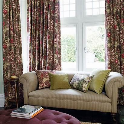 Morris Fabric Seaweed William Prints Archive Curtains
