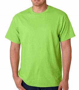 Gildan Lime Green Cotton Shirts Wholesale T shirts bulk cheap