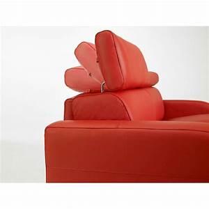 canape lit rapido tissu avec appuis tete ajustables dream With tete de lit canapé
