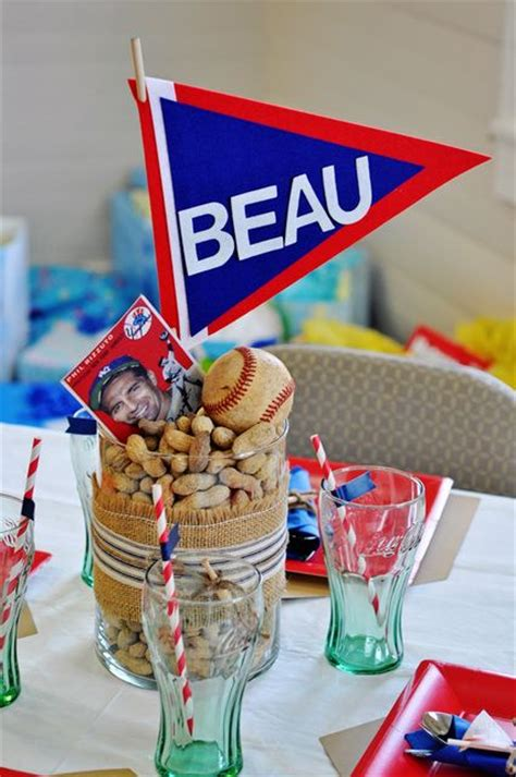 These Baseball Centerpieces Are A Home Run! B Lovely Events