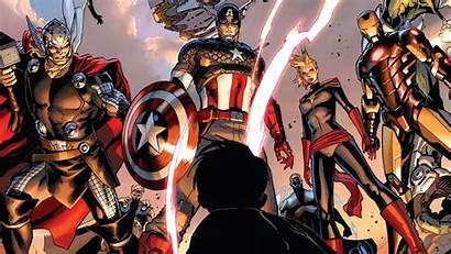 Captain Iron Thor America Marvel Avengers Comics