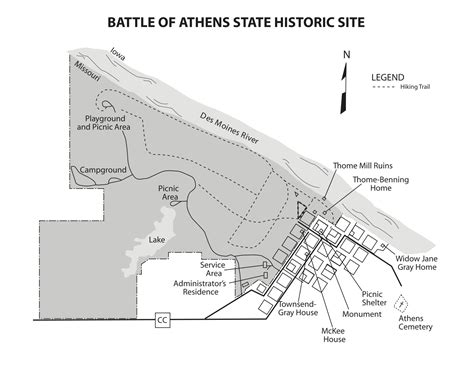 the state of siege battle of athens state historic site hike missouri