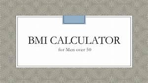 Bmi Calculator For Men Over 50