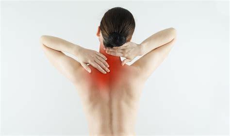 Pijn rechts onder schouderblad